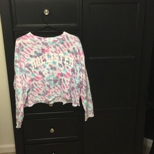 Hollister Colorful Crop Top